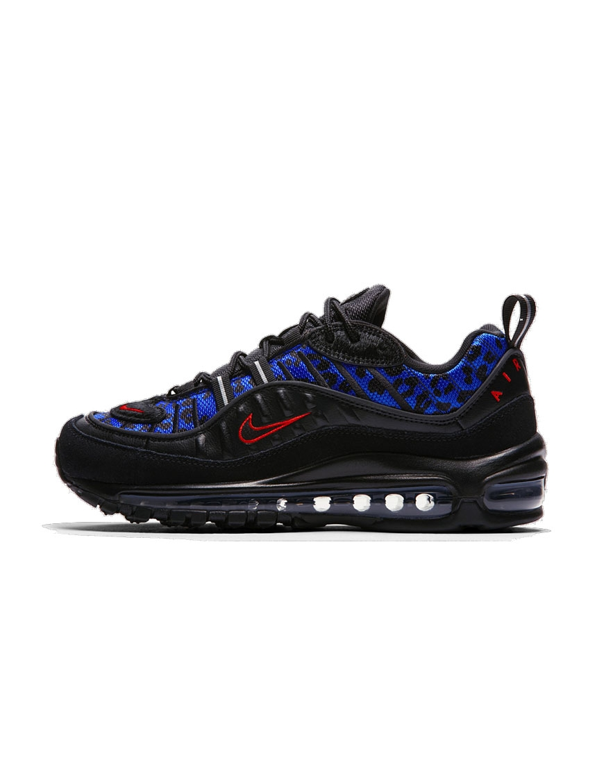 air max 98 black and red