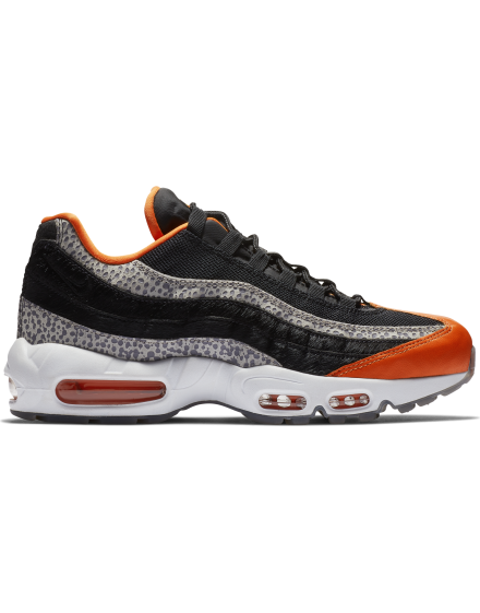 premium selection 53635 fcc13 Nike Air Max 95 - BLACK BLACK-GRANITE-SAFETY ORANGE